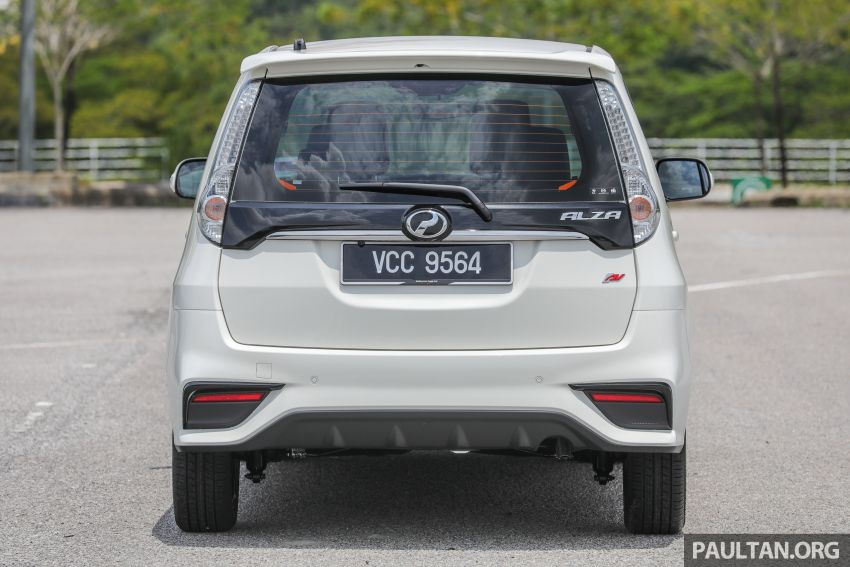 GALLERY: 2018 Perodua Alza facelift – Advance, SE Image #861179