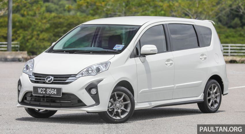 GALERI: Perodua Alza facelift – Advance dan SE Image #861279