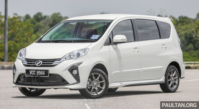 GALLERY: 2018 Perodua Alza facelift – Advance, SE Image #861170