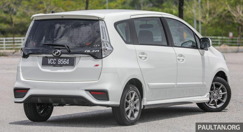 GALERI: Perodua Alza facelift – Advance dan SE Image #861281