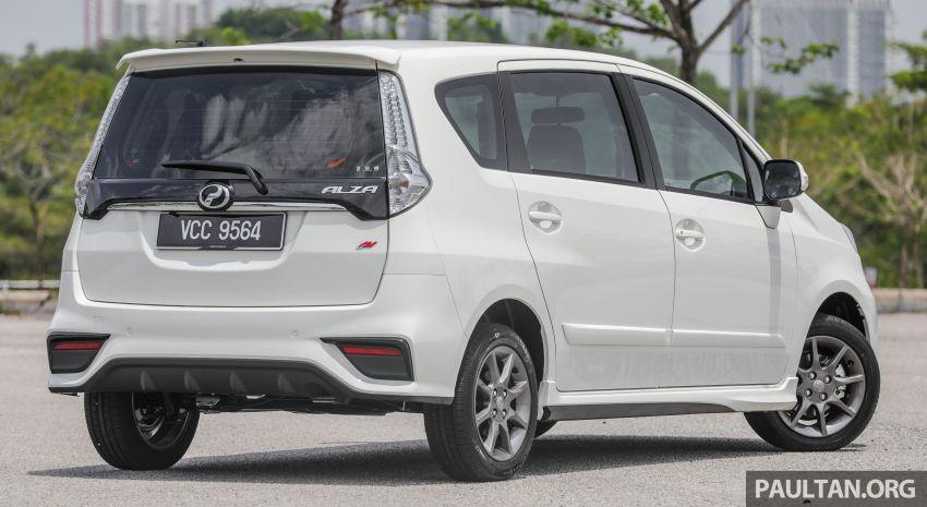 GALERI: Perodua Alza facelift – Advance dan SE Image #861282