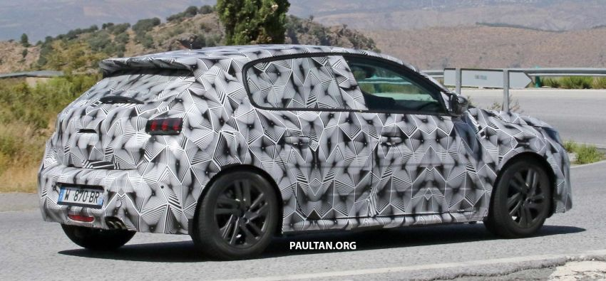 SPYSHOTS: Next Peugeot 208 hatch spotted testing Image #857830