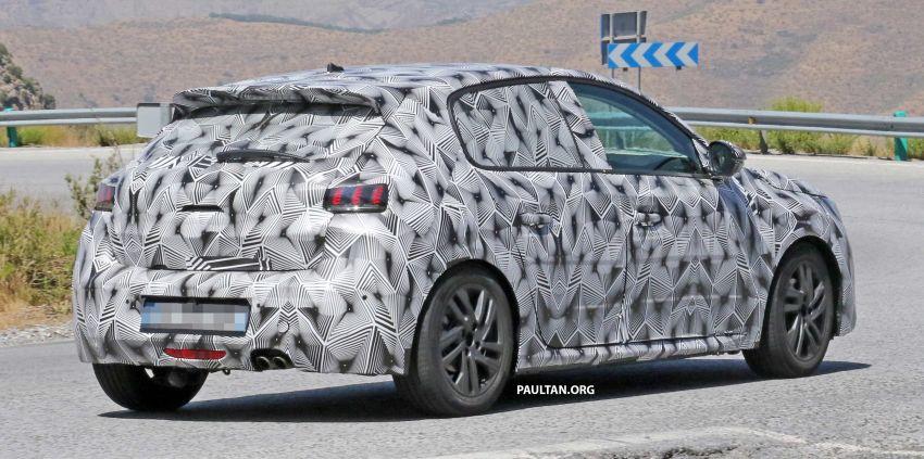 SPYSHOTS: Next Peugeot 208 hatch spotted testing Image #857831