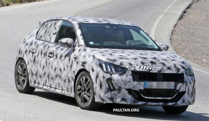 SPYSHOTS: Next Peugeot 208 hatch spotted testing Image #857822