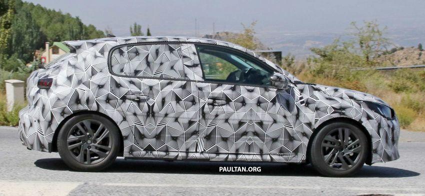 SPYSHOTS: Next Peugeot 208 hatch spotted testing Image #857828