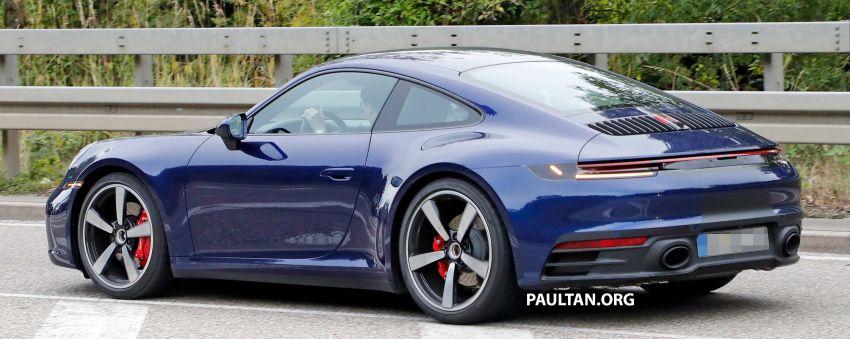 SPYSHOT: Porsche 911 generasi baharu terdedah, sedang diuji tanpa sebarang pelekat penyamaran Image #857359
