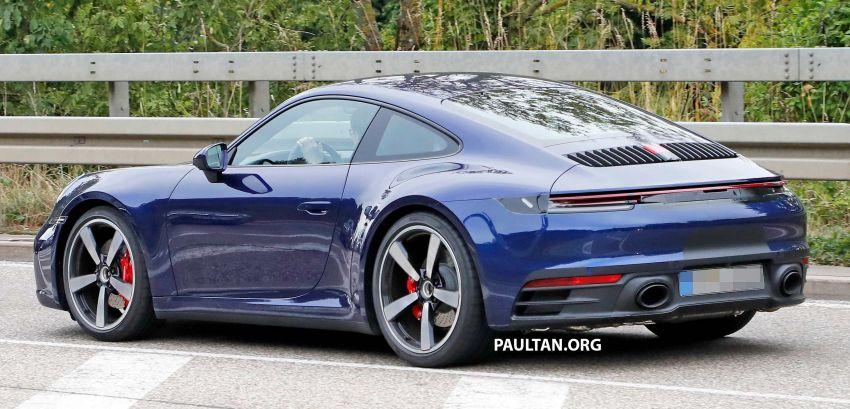 SPYSHOT: Porsche 911 generasi baharu terdedah, sedang diuji tanpa sebarang pelekat penyamaran Image #857358