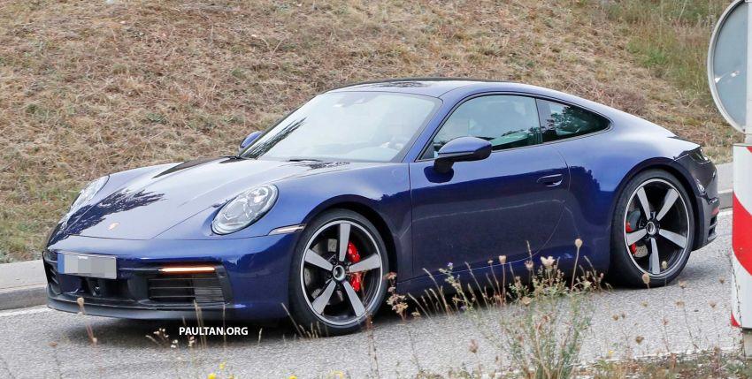 SPYSHOT: Porsche 911 generasi baharu terdedah, sedang diuji tanpa sebarang pelekat penyamaran Image #857365