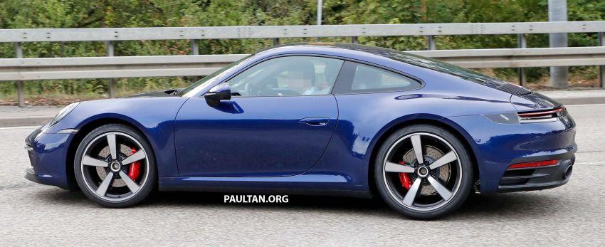 SPYSHOT: Porsche 911 generasi baharu terdedah, sedang diuji tanpa sebarang pelekat penyamaran Image #857362