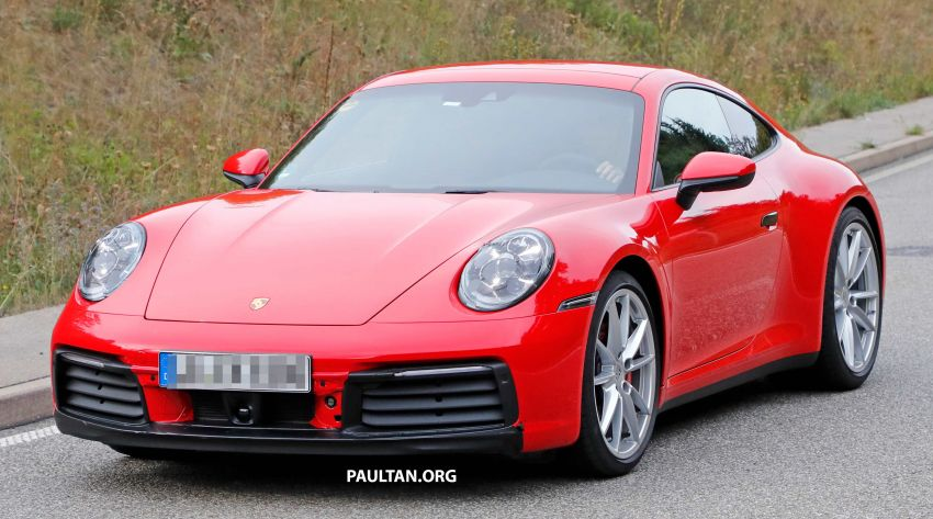SPYSHOTS: 992-generation Porsche 911 uncovered Image #857047