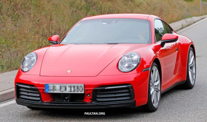 SPYSHOT: Porsche 911 generasi baharu terdedah, sedang diuji tanpa sebarang pelekat penyamaran Image #857378