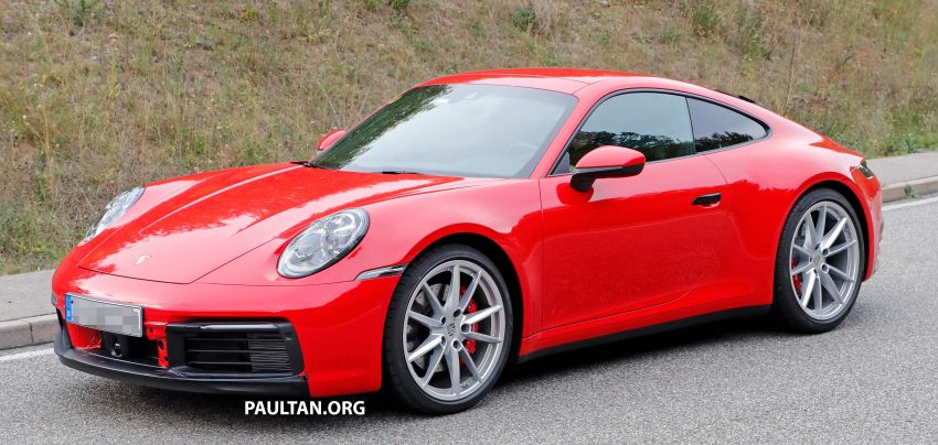 SPYSHOTS: 992-generation Porsche 911 uncovered Image #857050
