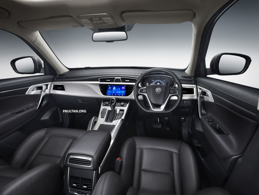 Proton X70 SUV – exterior paint and interior colours Image #859034