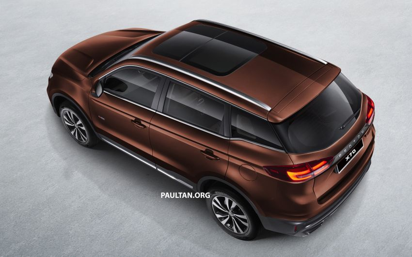 Proton X70 SUV – exterior paint and interior colours Image #859036