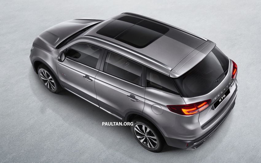 Proton X70 SUV – exterior paint and interior colours Image #859037