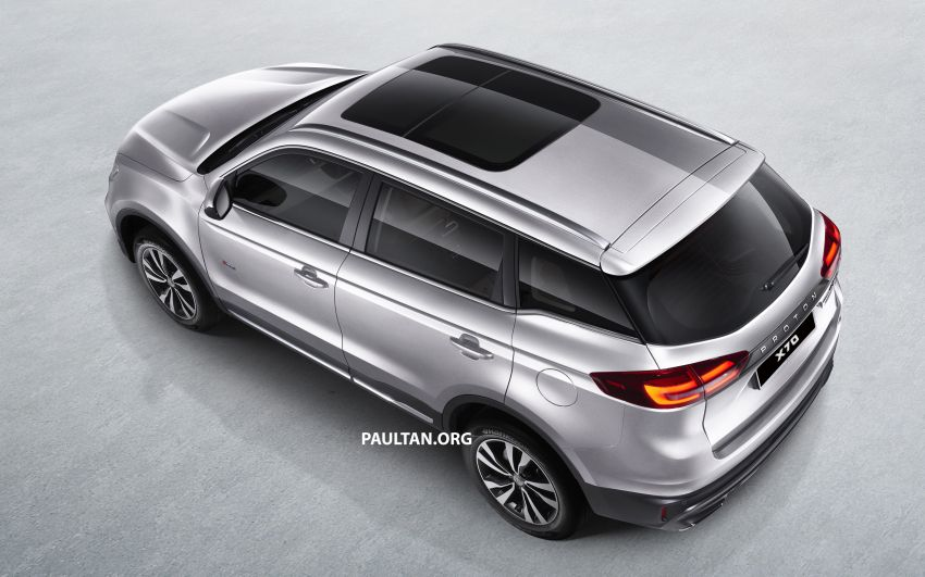 Proton X70 SUV – exterior paint and interior colours Image #859039