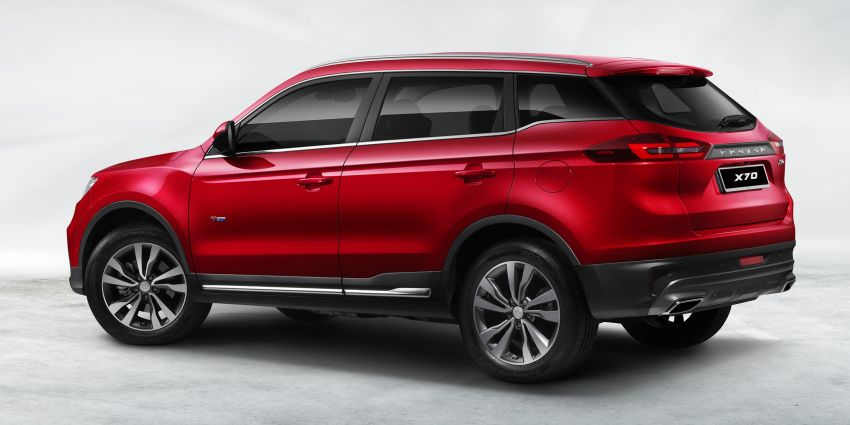 2018 Proton X70 SUV – official details finally released! Image #858884