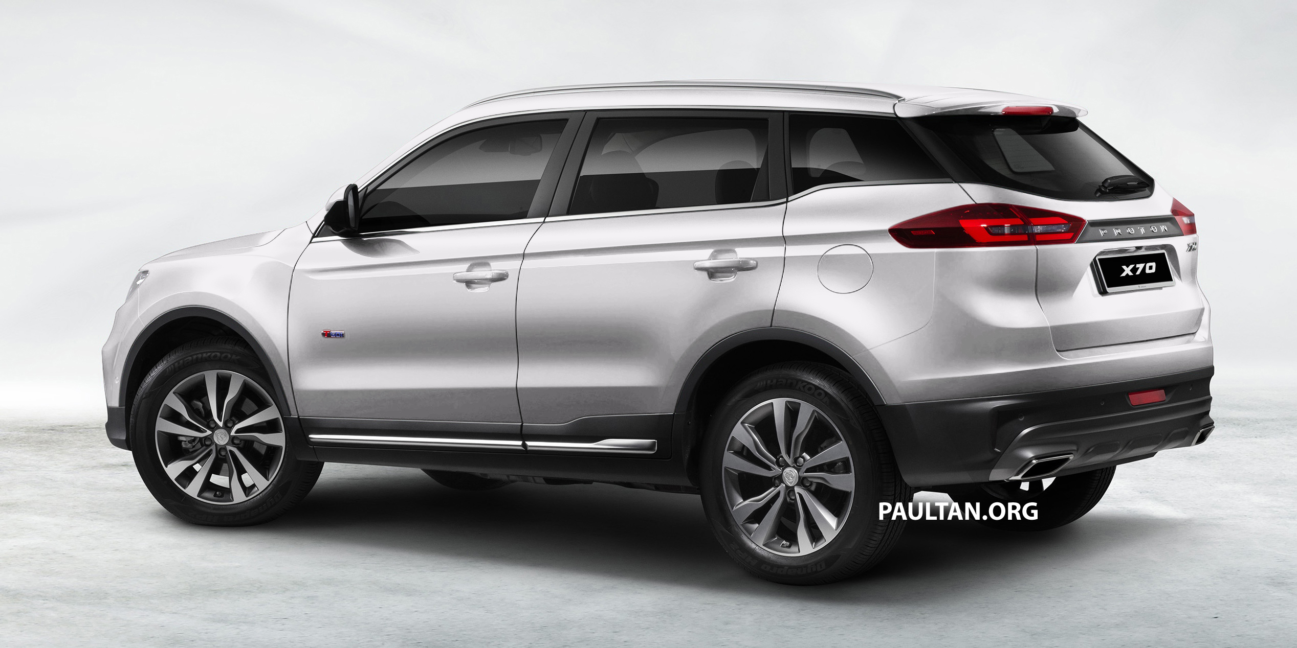 Proton X70 SUV – exterior paint and interior colours Paul Tan - Image 859045