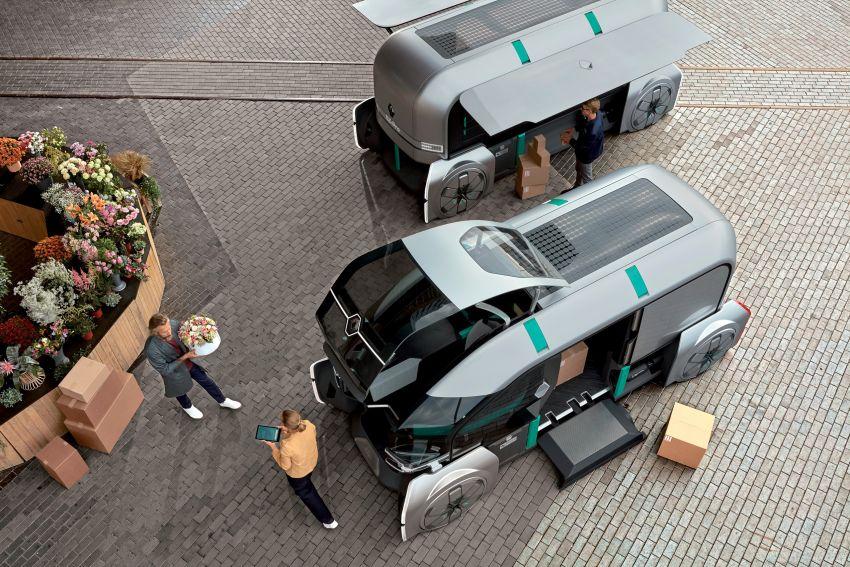 Renault EZ-PRO tunjuk konsep baru penghantaran barang jarak dekat menggunakan pod autonomous Image #862932