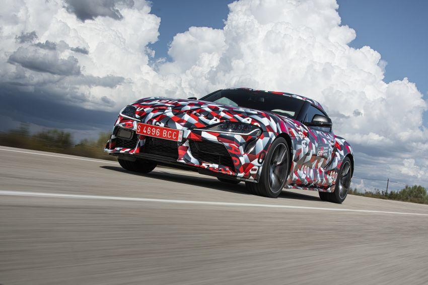 Toyota Supra A90 sah ke Australia – 3.0L 6-silinder turbo, lebih 295 hp/450 Nm, 0-100 km/j bawah 5 saat Image #862697