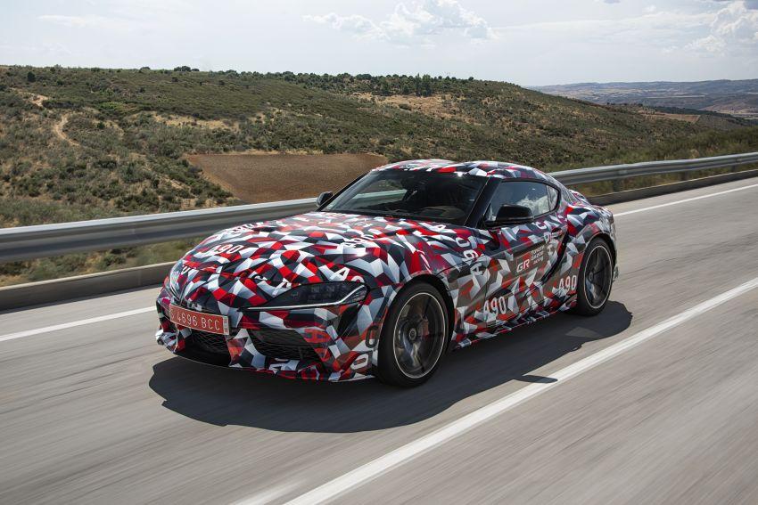 Toyota Supra A90 sah ke Australia – 3.0L 6-silinder turbo, lebih 295 hp/450 Nm, 0-100 km/j bawah 5 saat Image #862701