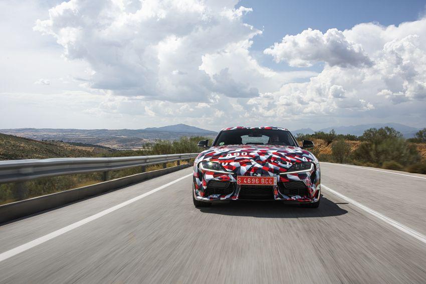 Toyota Supra A90 sah ke Australia – 3.0L 6-silinder turbo, lebih 295 hp/450 Nm, 0-100 km/j bawah 5 saat Image #862702