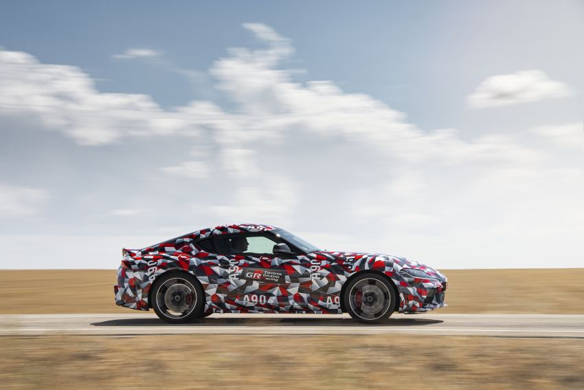 Toyota Supra A90 sah ke Australia – 3.0L 6-silinder turbo, lebih 295 hp/450 Nm, 0-100 km/j bawah 5 saat Image #862704