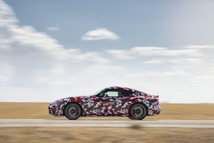 Toyota Supra A90 sah ke Australia – 3.0L 6-silinder turbo, lebih 295 hp/450 Nm, 0-100 km/j bawah 5 saat Image #862705