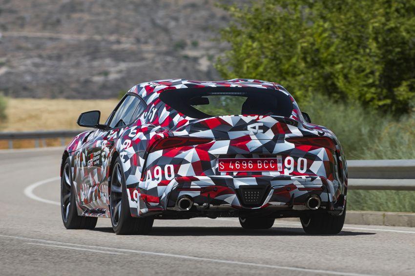 Toyota Supra A90 sah ke Australia – 3.0L 6-silinder turbo, lebih 295 hp/450 Nm, 0-100 km/j bawah 5 saat Image #862706
