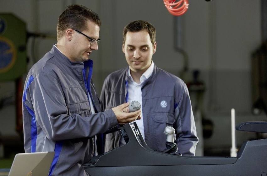 Volkswagen to use 3D printers to mass produce parts Image #860288