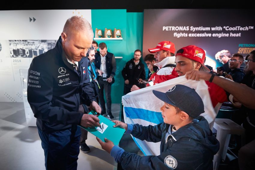Valtteri Bottas: pelumba Finland yang suka adrenalin Image #863186