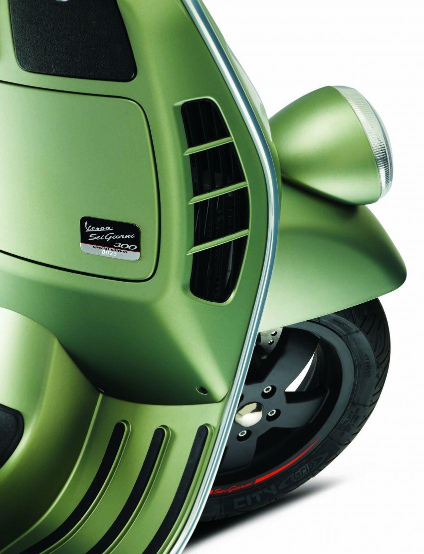 Vespa perkenal tiga model edisi istimewa di M'sia – 946 Red, Sprint Carbon dan Sei Giorni; dari RM17,400 Image #861410