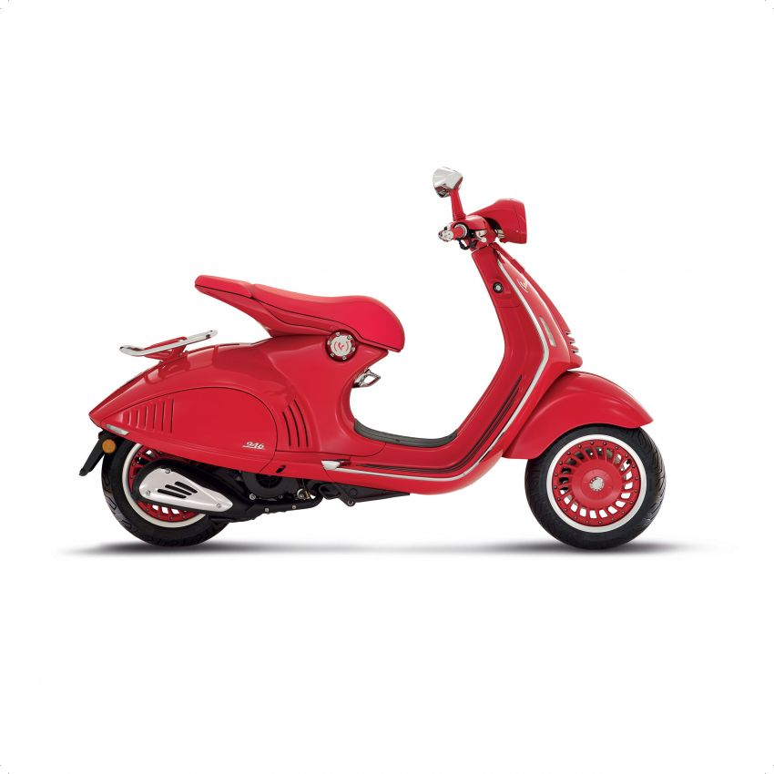 Vespa perkenal tiga model edisi istimewa di M'sia – 946 Red, Sprint Carbon dan Sei Giorni; dari RM17,400 Image #861416
