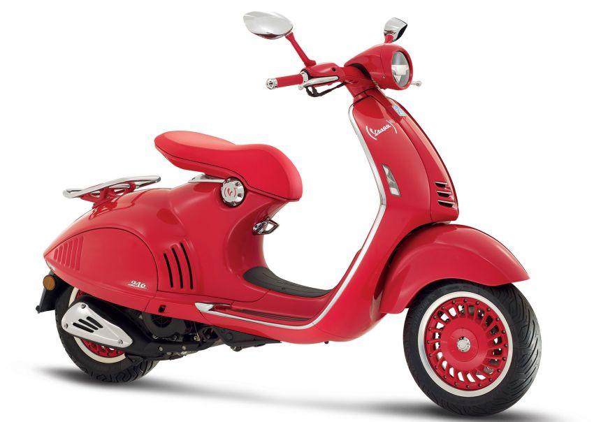 Vespa perkenal tiga model edisi istimewa di M'sia – 946 Red, Sprint Carbon dan Sei Giorni; dari RM17,400 Image #861418