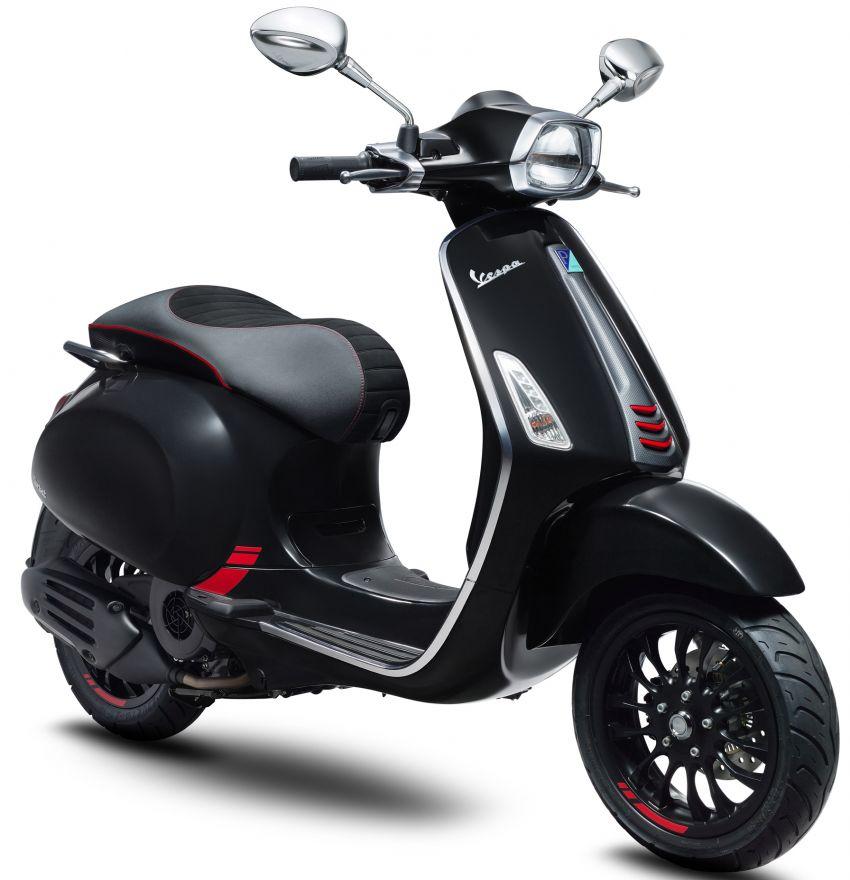 Vespa perkenal tiga model edisi istimewa di M'sia – 946 Red, Sprint Carbon dan Sei Giorni; dari RM17,400 Image #861464