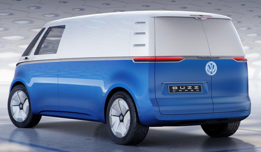 Volkswagen I.D. Buzz Cargo – van pengangkut pintar Image #863457