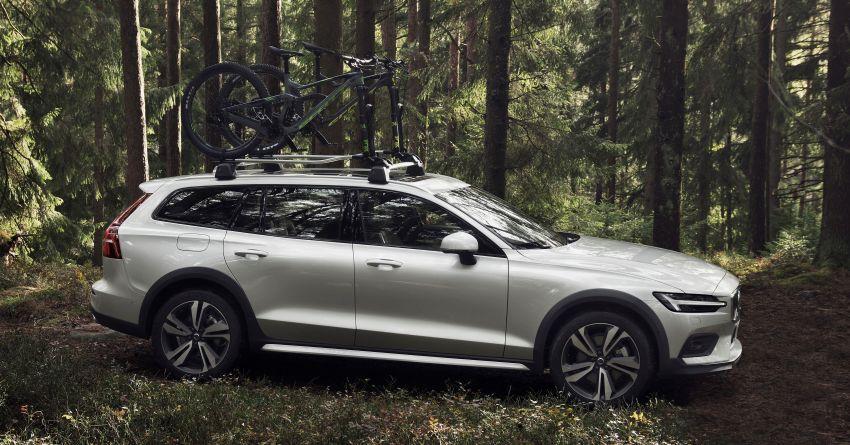 Volvo V60 Cross Country didedahkan secara rasmi- wagon keluarga 'rentas desa' generasi baharu Image #865007