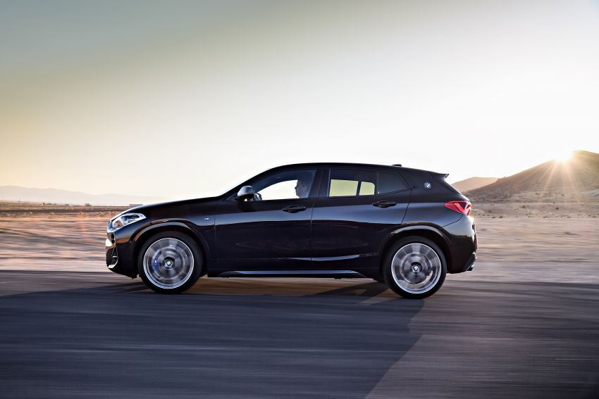 BMW X2 M35i debuts with 302 hp – 0-100 km/h in 4.9s Image #859064
