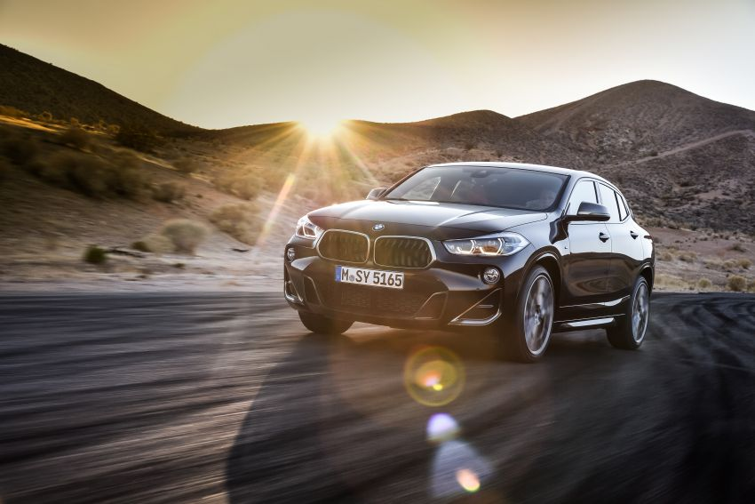 BMW X2 M35i debuts with 302 hp – 0-100 km/h in 4.9s Image #859065