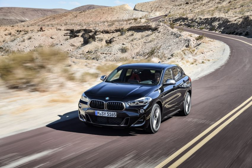 BMW X2 M35i debuts with 302 hp – 0-100 km/h in 4.9s Image #859066