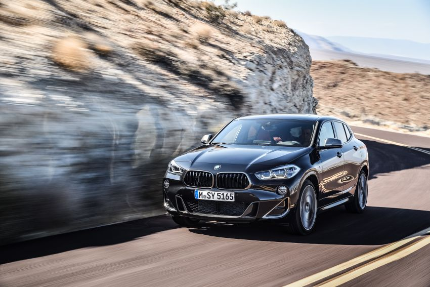 BMW X2 M35i debuts with 302 hp – 0-100 km/h in 4.9s Image #859067