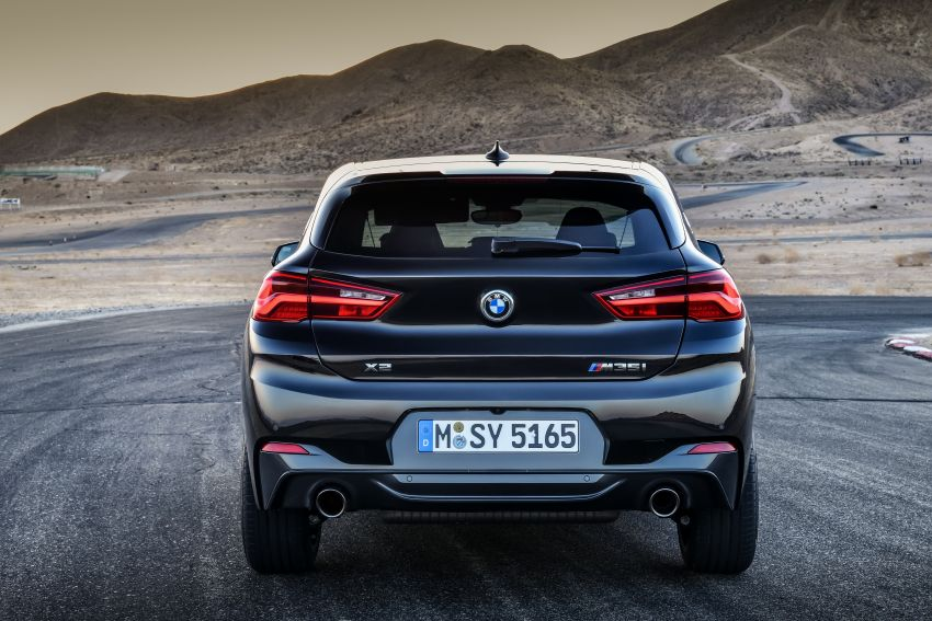 BMW X2 M35i debuts with 302 hp – 0-100 km/h in 4.9s Image #859069