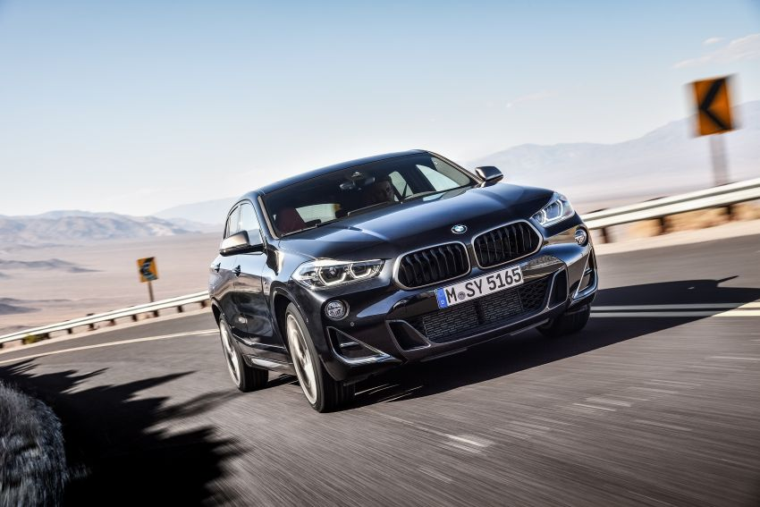 BMW X2 M35i debuts with 302 hp – 0-100 km/h in 4.9s Image #859070