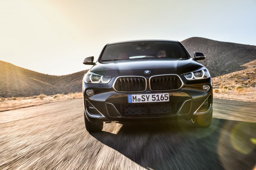 BMW X2 M35i debuts with 302 hp – 0-100 km/h in 4.9s Image #859071