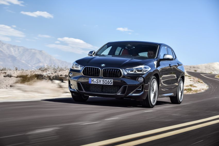BMW X2 M35i debuts with 302 hp – 0-100 km/h in 4.9s Image #859073