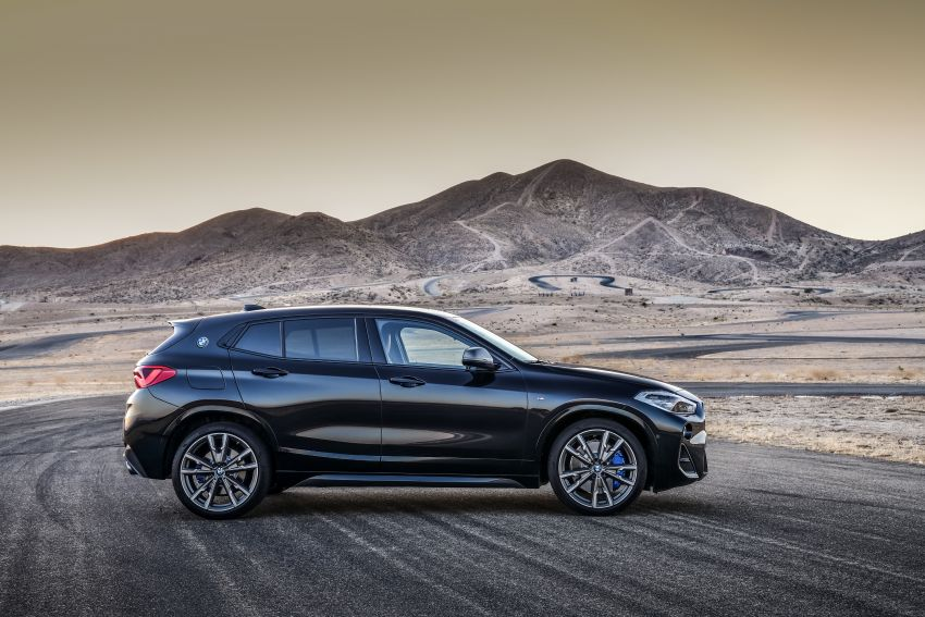 BMW X2 M35i debuts with 302 hp – 0-100 km/h in 4.9s Image #859074