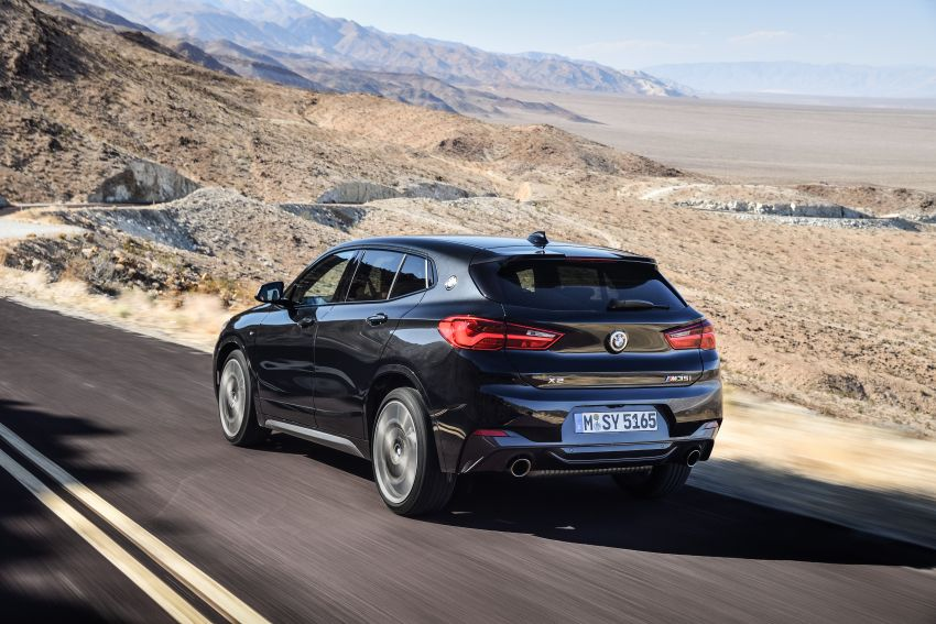 BMW X2 M35i debuts with 302 hp – 0-100 km/h in 4.9s Image #859076