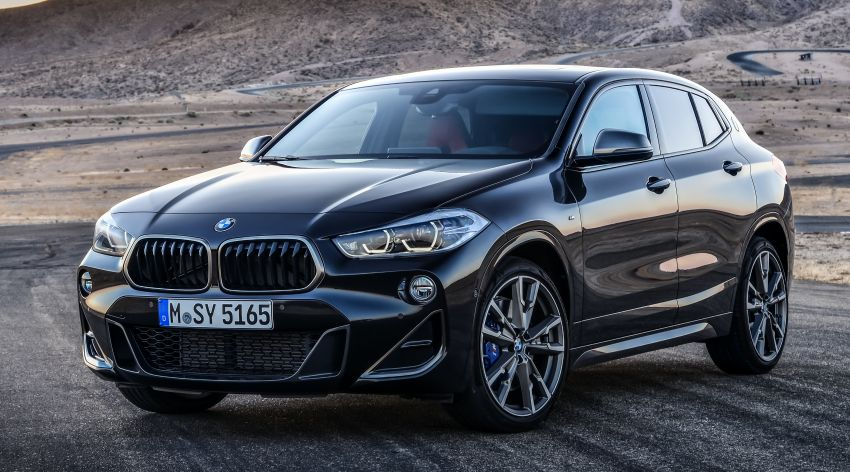 BMW X2 M35i debuts with 302 hp – 0-100 km/h in 4.9s Image #859078