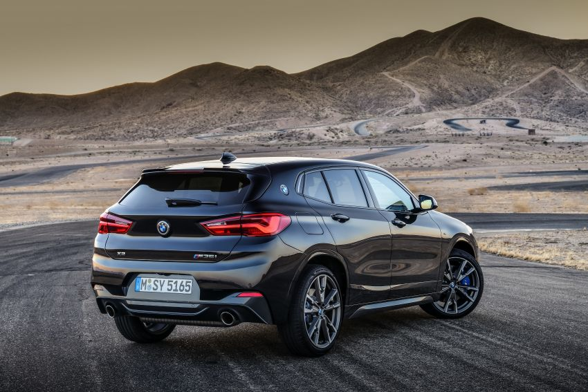 BMW X2 M35i debuts with 302 hp – 0-100 km/h in 4.9s Image #859080
