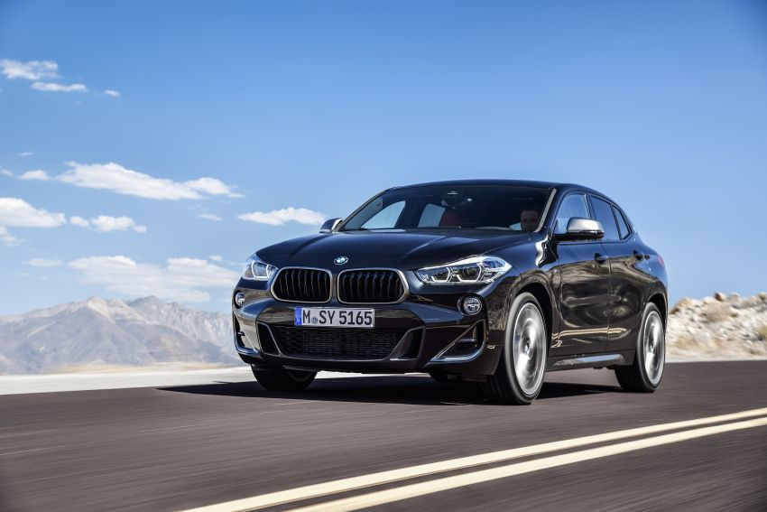 BMW X2 M35i debuts with 302 hp – 0-100 km/h in 4.9s Image #859081